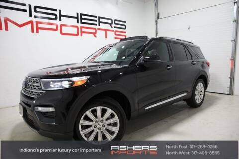2020 Ford Explorer for sale at Fishers Imports in Fishers IN
