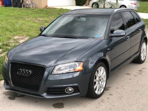 2013 Audi A3 for sale at Internet Motorcars LLC in Fort Myers FL