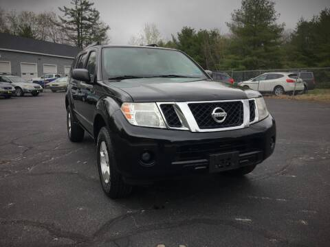 2012 Nissan Pathfinder for sale at 207 Motors in Gorham ME