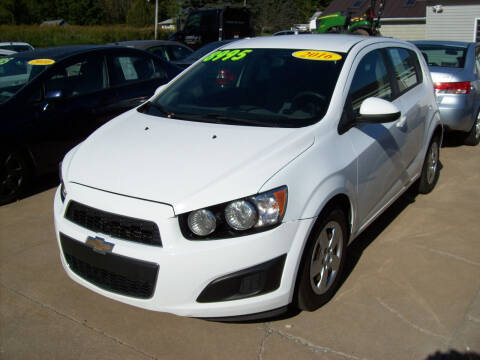 2016 Chevrolet Sonic for sale at Summit Auto Inc in Waterford PA