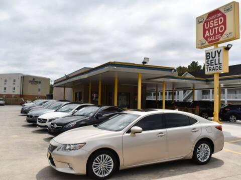 2014 Lexus ES 350 for sale at Houston Used Auto Sales in Houston TX