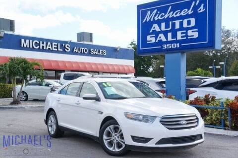 2015 Ford Taurus for sale at Michael's Auto Sales Corp in Hollywood FL