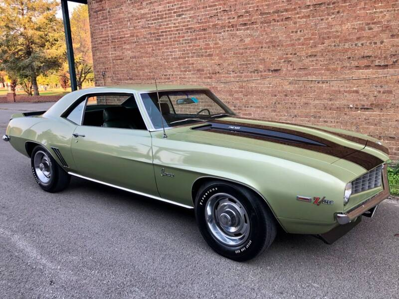 1969 Chevrolet Camaro for sale at Countryside Classics in Russellville KY
