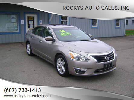 2014 Nissan Altima for sale at Rockys Auto Sales, Inc in Elmira NY