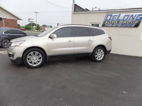 2013 Chevrolet Traverse for sale at DeLong Auto Group in Tipton IN