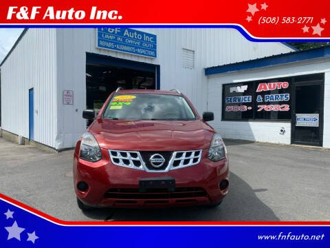 2015 Nissan Rogue Select for sale at F&F Auto Inc. in West Bridgewater MA