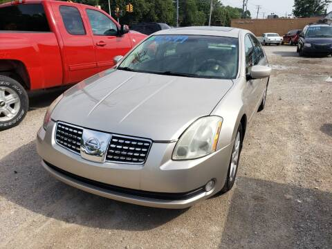 2006 Nissan Maxima for sale at D & D All American Auto Sales in Mount Clemens MI