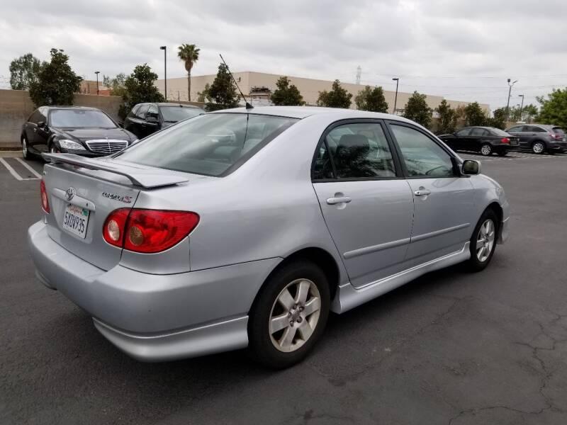 2007 Toyota Corolla for sale at Auto Facil Club in Orange CA