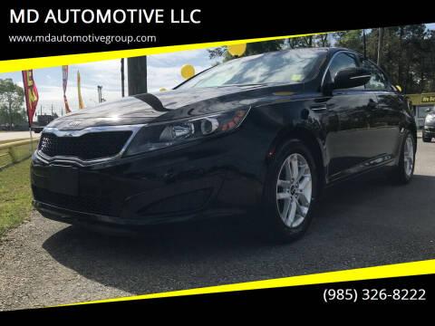 2011 Kia Optima for sale at MD AUTOMOTIVE LLC in Slidell LA