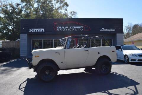 1971 International Scout for sale at Gulf Coast Exotic Auto in Biloxi MS