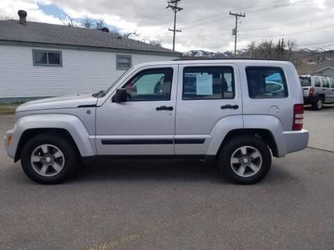 2008 Jeep Liberty for sale at BRAMBILA MOTORS in Pocatello ID