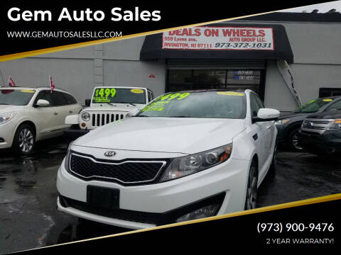 2013 Kia Optima for sale at Gem Auto Sales in Irvington NJ