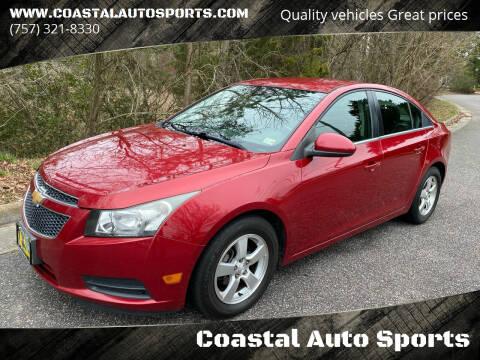 2013 Chevrolet Cruze for sale at Coastal Auto Sports in Chesapeake VA