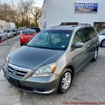 2007 Honda Odyssey for sale at Best Choice Auto Sales in Virginia Beach VA