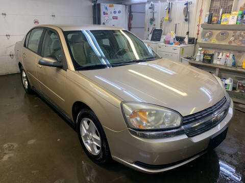 2004 Chevrolet Malibu for sale at BURNWORTH AUTO INC in Windber PA