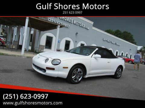 1995 Toyota Celica for sale at Gulf Shores Motors in Gulf Shores AL