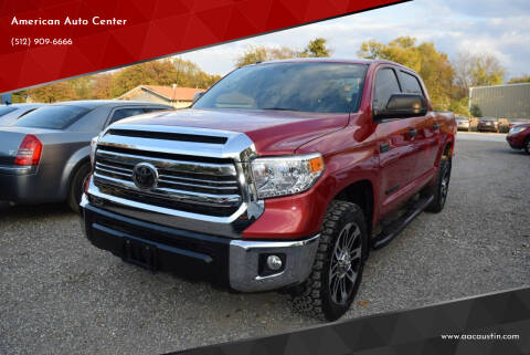 2016 Toyota Tundra for sale at American Auto Center in Austin TX