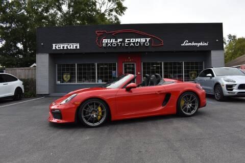 2016 Porsche Boxster for sale at Gulf Coast Exotic Auto in Biloxi MS