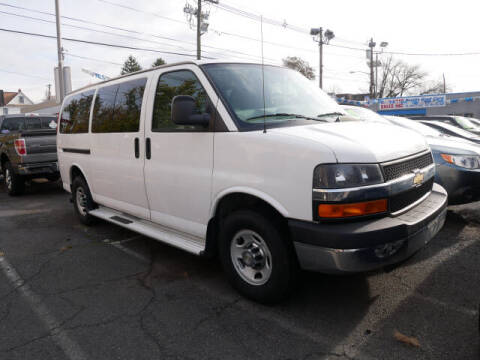 2014 Chevrolet Express Passenger for sale at M & R Auto Sales INC. in North Plainfield NJ