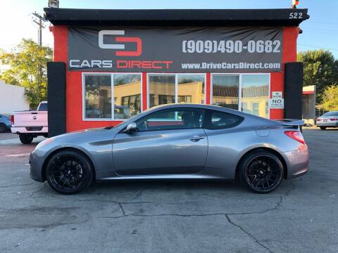 2012 Hyundai Genesis Coupe for sale at Cars Direct in Ontario CA