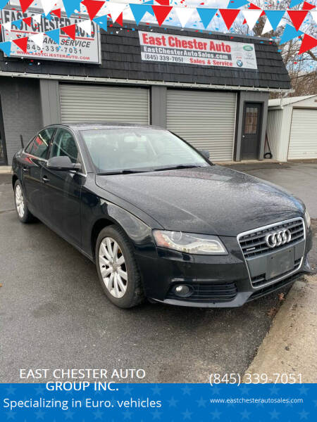 2012 Audi A4 for sale at EAST CHESTER AUTO GROUP INC. in Kingston NY