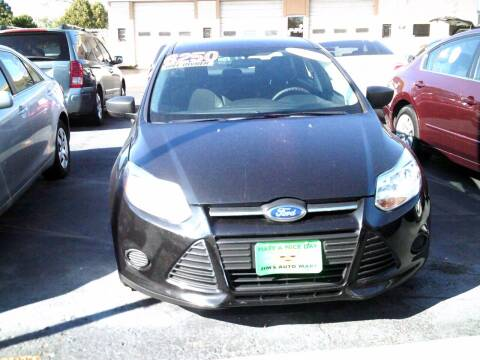 2012 Ford Focus for sale at JIMS AUTO MART INC in Milwaukee WI