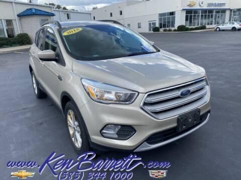 2018 Ford Escape for sale at KEN BARRETT CHEVROLET CADILLAC in Batavia NY