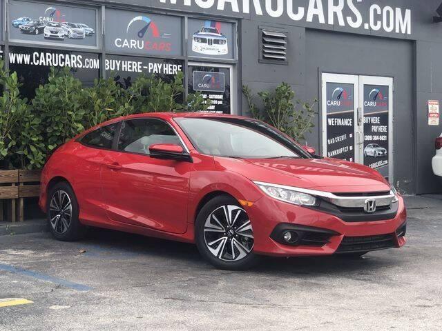 2018 Honda Civic for sale at CARUCARS LLC in Miami FL