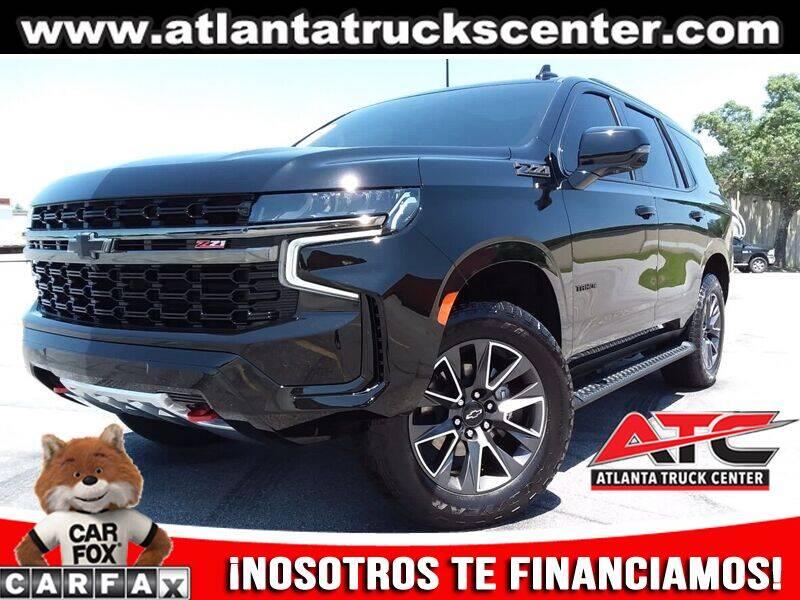 2021 Chevrolet Tahoe for sale at ATLANTA TRUCK CENTER LLC in Brookhaven GA