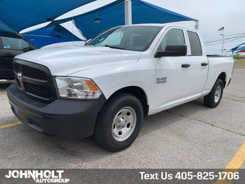 2016 RAM Ram Pickup 1500 for sale at JOHN HOLT AUTO GROUP, INC. in Chickasha OK