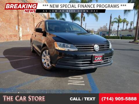 2015 Volkswagen Jetta for sale at The Car Store in Santa Ana CA