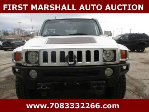 2006 HUMMER H3 for sale at First Marshall Auto Auction in Harvey IL