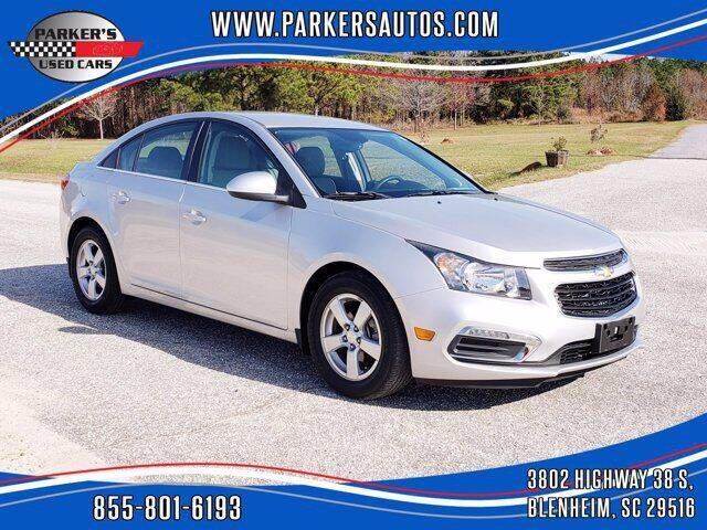 2015 Chevrolet Cruze for sale at Parker's Used Cars in Blenheim SC