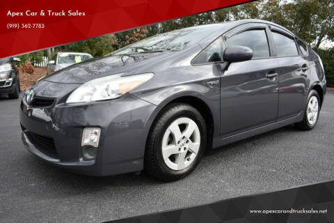 2010 Toyota Prius for sale at Apex Car & Truck Sales in Apex NC