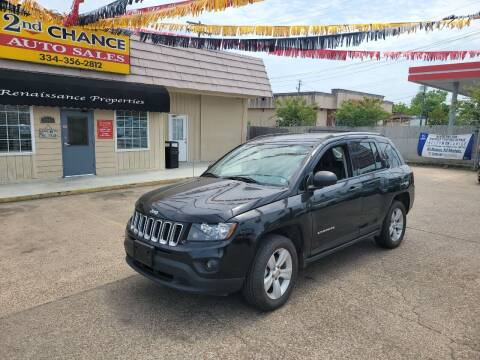 2016 Jeep Compass for sale at 2nd Chance Auto Sales in Montgomery AL