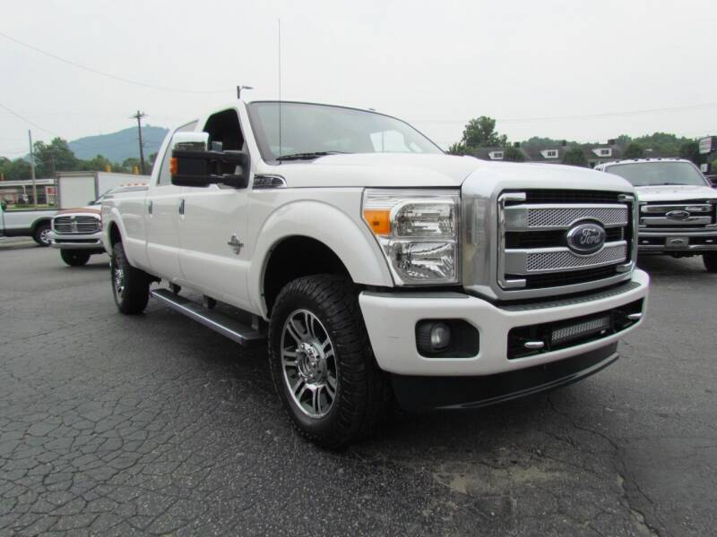 2013 Ford F-350 Super Duty for sale at Hibriten Auto Mart in Lenoir NC
