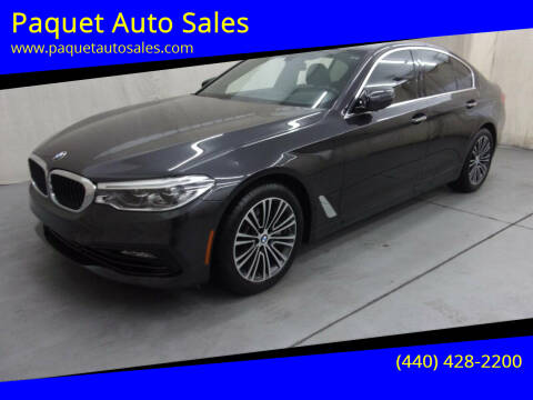 2017 BMW 5 Series for sale at Paquet Auto Sales in Madison OH