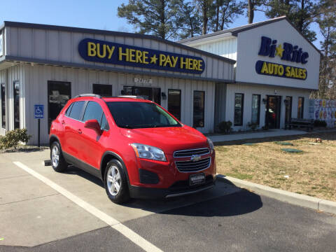 2015 Chevrolet Trax for sale at Bi Rite Auto Sales in Seaford DE