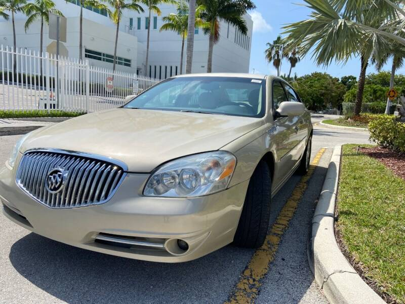 2011 Buick Lucerne for sale at LESS PRICE AUTO BROKER in Hollywood FL