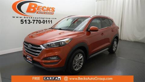 2017 Hyundai Tucson for sale at Becks Auto Group in Mason OH