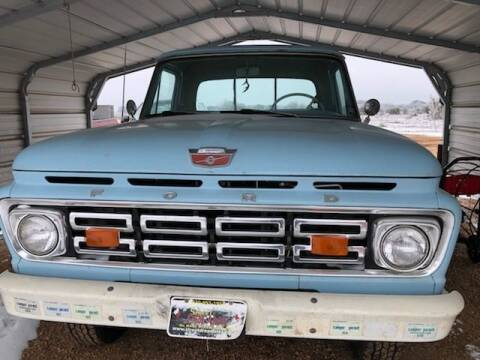 1964 Ford F100 4x4 for sale at CLASSIC MOTOR SPORTS in Winters TX