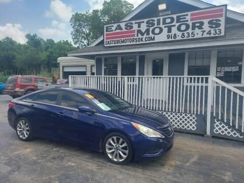 2011 Hyundai Sonata for sale at EASTSIDE MOTORS in Tulsa OK