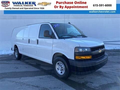 2020 Chevrolet Express Cargo for sale at WALKER CHEVROLET in Franklin TN
