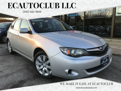2011 Subaru Impreza for sale at ECAUTOCLUB LLC in Kent OH