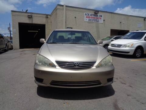 2005 Toyota Camry for sale at ACH AutoHaus in Dallas TX