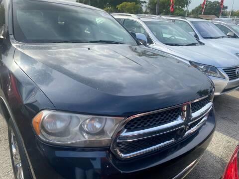 2013 Dodge Durango for sale at America Auto Wholesale Inc in Miami FL