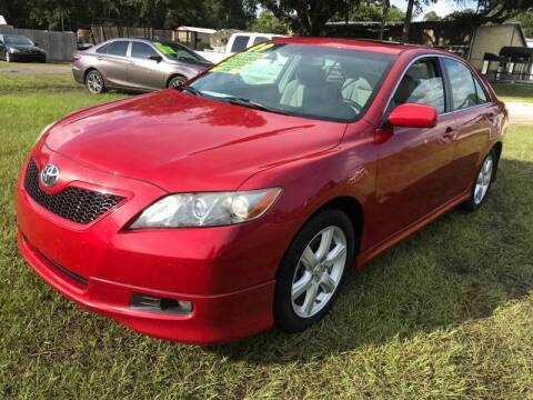2009 Toyota Camry for sale at MISSION AUTOMOTIVE ENTERPRISES in Plant City FL