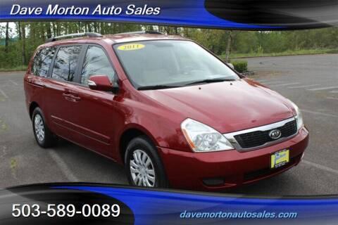 2011 Kia Sedona for sale at Dave Morton Auto Sales in Salem OR
