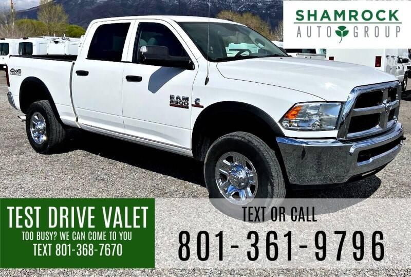 2017 RAM Ram Pickup 2500 for sale at Shamrock Group LLC #1 in Pleasant Grove UT