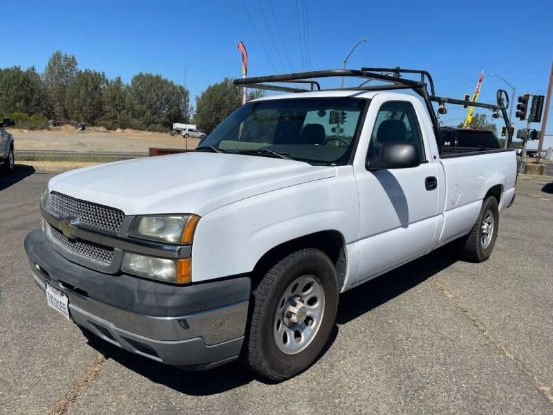 2005 Chevrolet Silverado 1500 for sale at Deruelle's Auto Sales in Shingle Springs CA